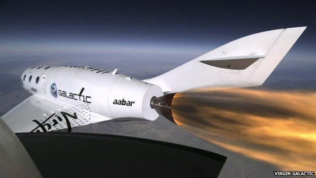 Virgin Galactic craft