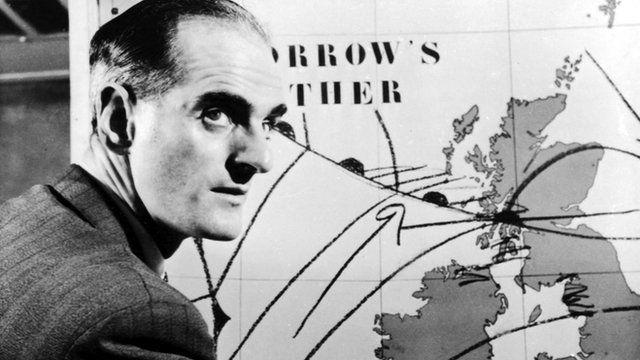 First TV weatherman