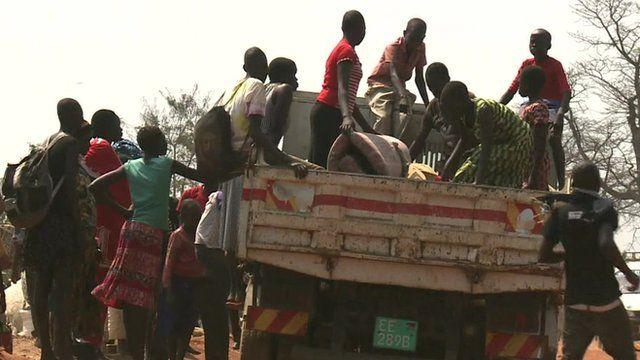 Refugees in Uganda