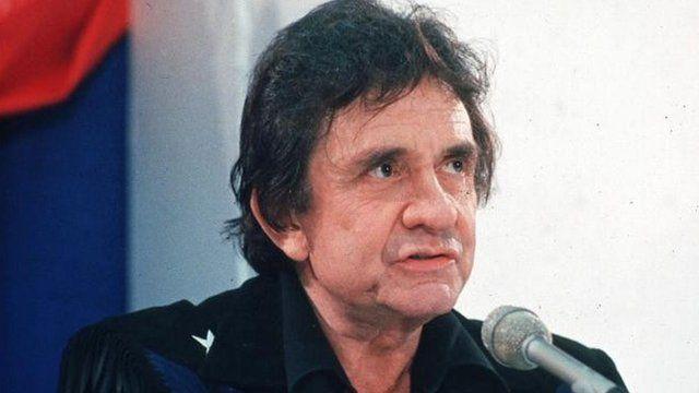 Musician Johnny Cash