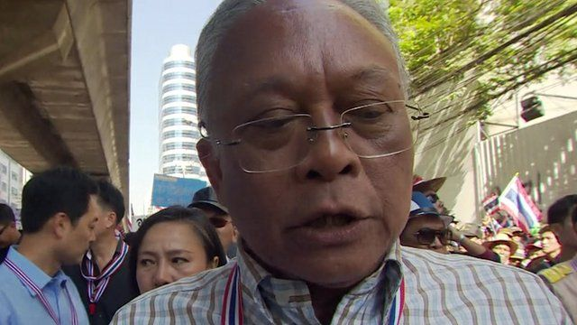 Suthep Thaugsuban, Thai protest leader