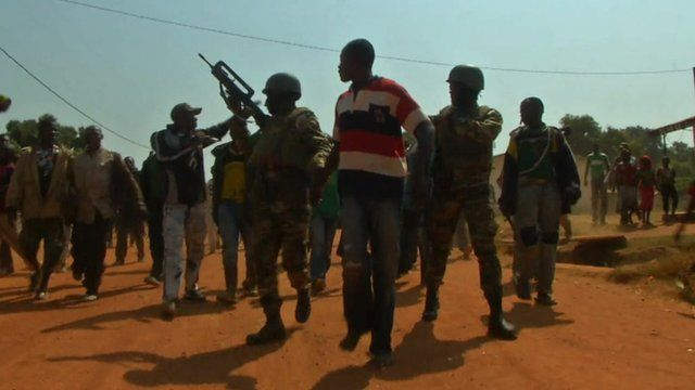 Christians and Muslims in Central African Republic