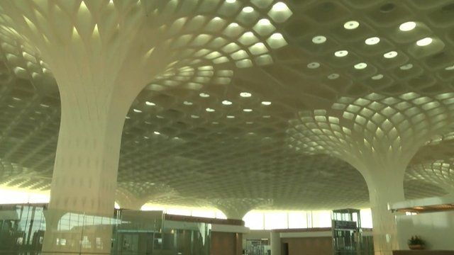 Inside the new Mumbai airport