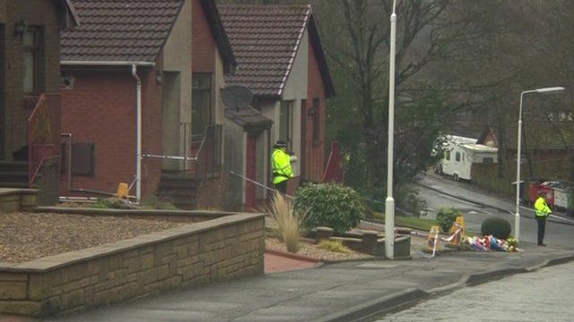 A house in Kirkcaldy was searched by police officers