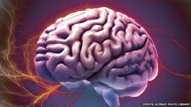 Surgeons carry out operations on the brain using technology better known in 3D films
