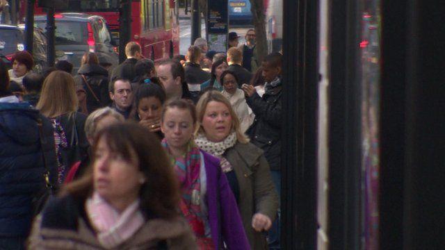 People on Oxford Street