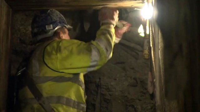 Sewer repair work in Cambridge city centre