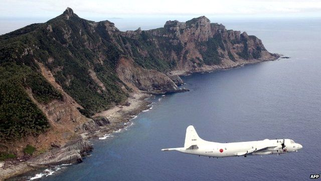 A group of islands in the East China Sea