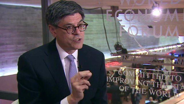 US Treasury Secretary, Jack Lew