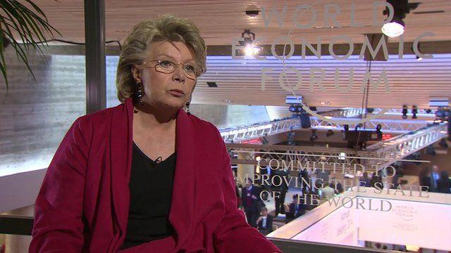 Viviane Reding, EU Justice Commissioner