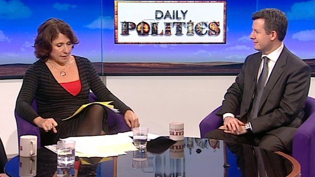 Jo Coburn and Chris Leslie on Daily Politics