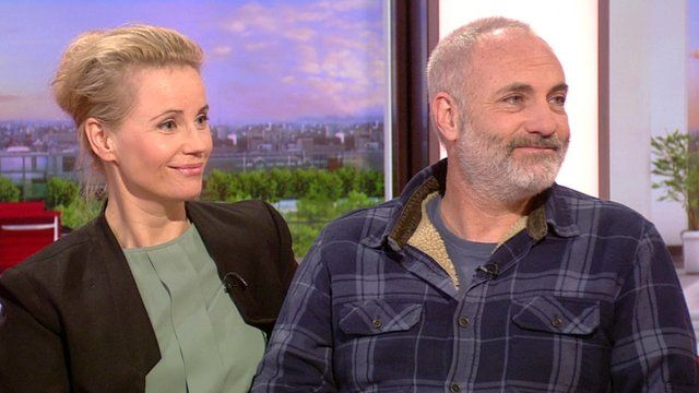 Sofia Helin and Kim Bodnia