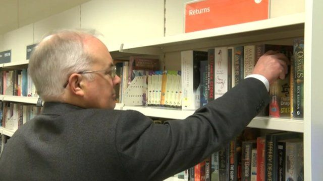 Lincolnshire library volunteers