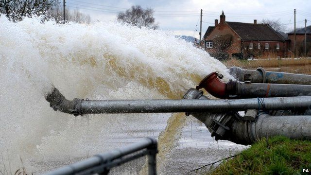 Flood water pumps