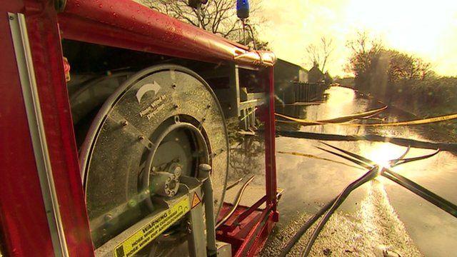 Fire engine pump