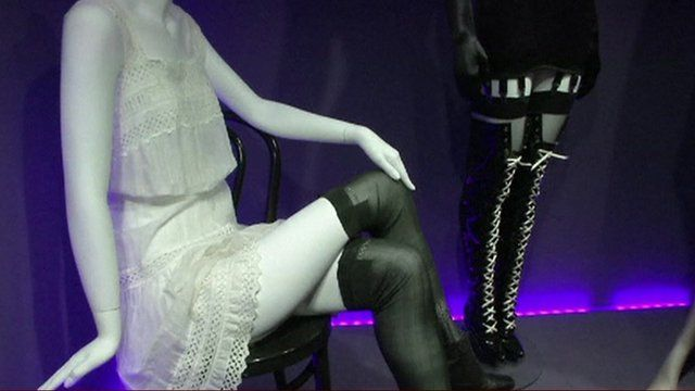 Mannequins at the Museum of Prostitution