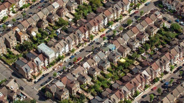 Housing aerial