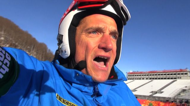 Graham Bell's Olympic downhill course guide