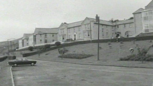 Llwynypia hospital - once the largest hospital in the Rhondda