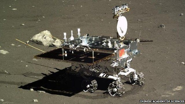 Yutu rover