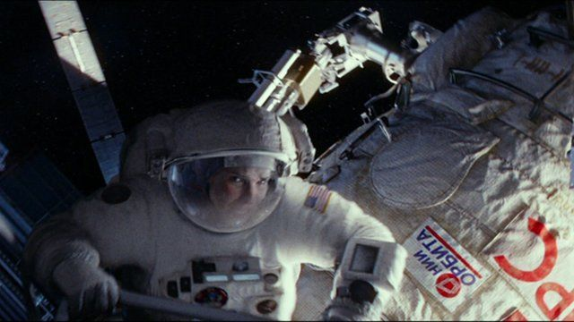 A still from Gravity