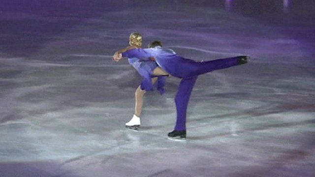 Jayne Torvill and Christopher Dean perform Bolero in Sarajevo in 2014