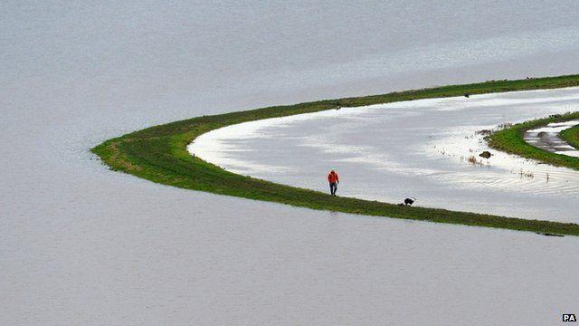Floods at Somerset Levels