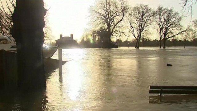 Floods in Windsor