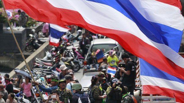 Bangkok protestors