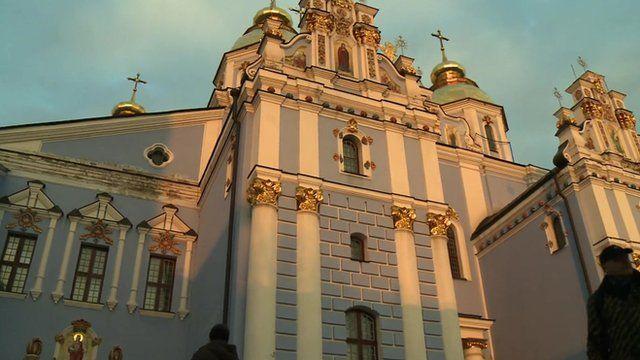 Mikhailivsky monastery in Kiev