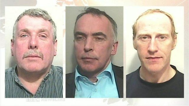 """Former estate agent Damien Mallon, ex-solicitor Peter Brassil and Peter Creegan, the former manager of a Newry bank, were jailed on Friday following a """"massive"""" police investigation"""