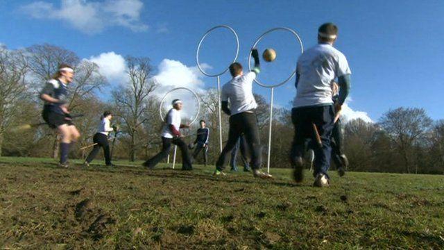 Quidditch game