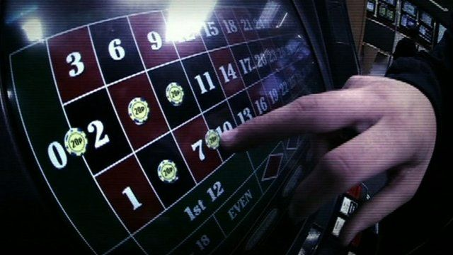 Bets placed on machine
