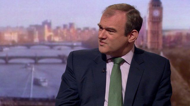 Ed Davey wants a balanced approach