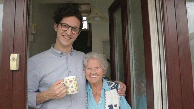 Dan Croll and his Grandmother