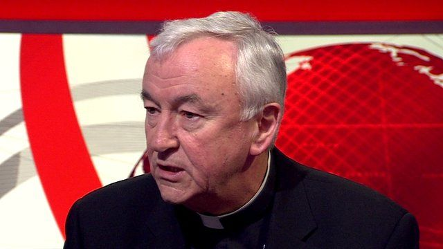 The Archbishop of Westminster, Cardinal Vincent Nichols