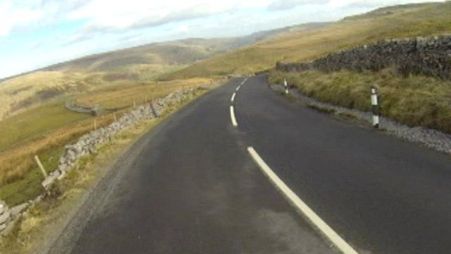 Part of Tour de Yorkshire route