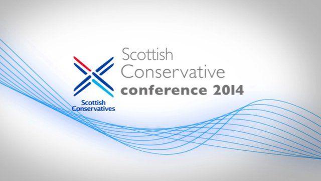 Scottish Conservative conference 2014
