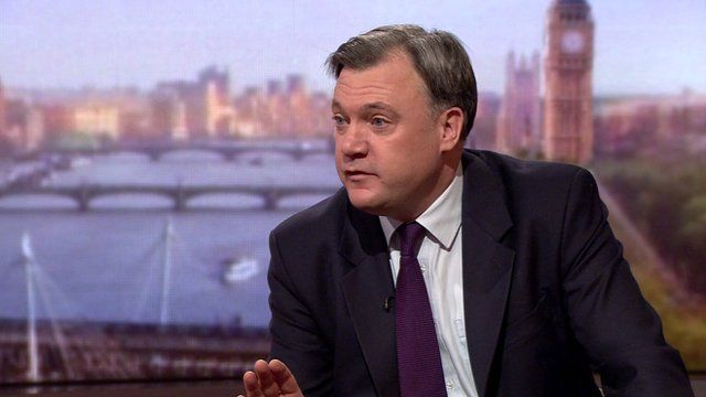 Ed Balls on Labour spending plans