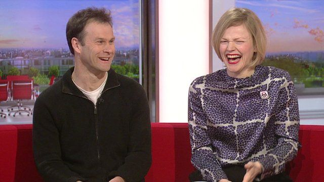 Peter Moffat and Maxine Peake