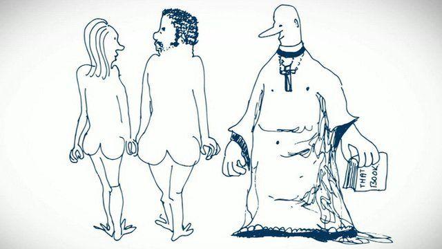 John Lennon cartoon