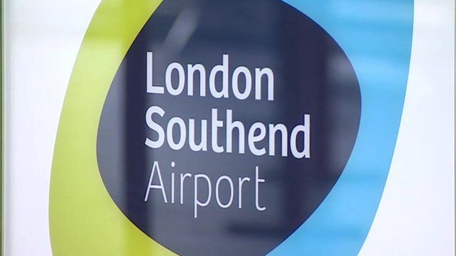 London Southend Airport sign