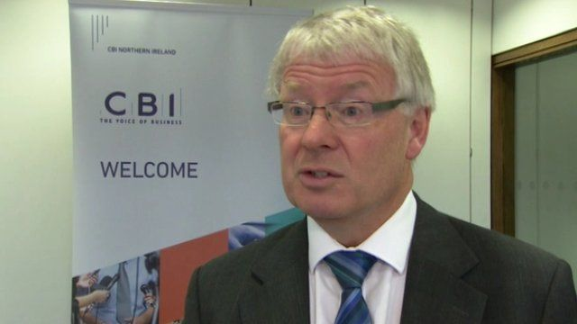 CBI Northern Ireland director Nigel Smyth said the problem of low pay could only be tackled in the long term