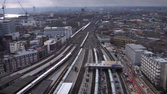 London Bridge is under going an upgrade