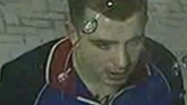 CCTV footage of Kieran McManus