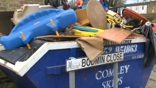 Bodmin Close skip