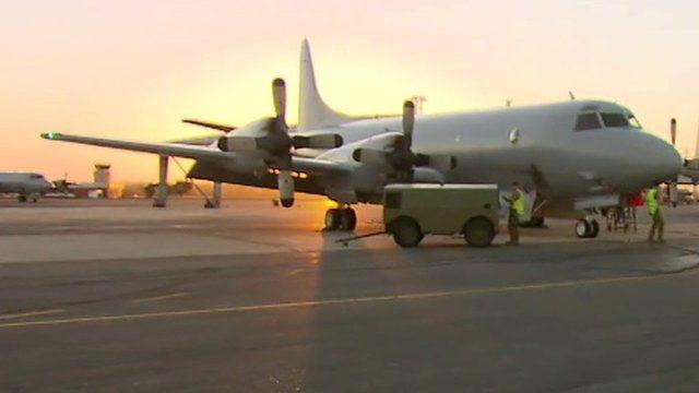 Planes at Royal Australian Air Force Base Pearce