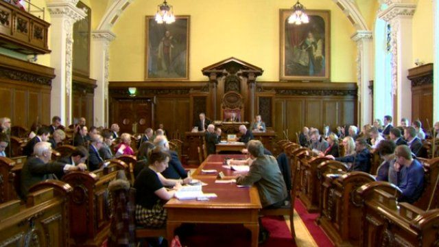 Belfast City Council meeting
