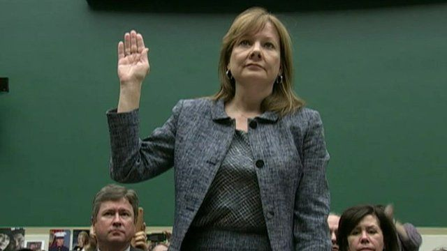 General Motors chief executive Mary Barra
