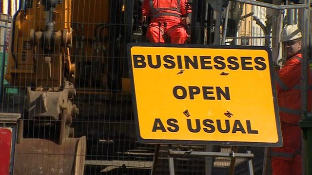 Cockermouth road works